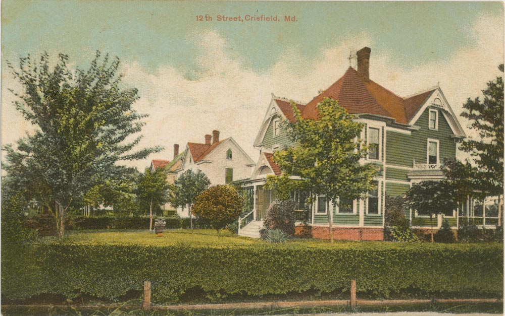 Front Side of Post Card, 12th Street